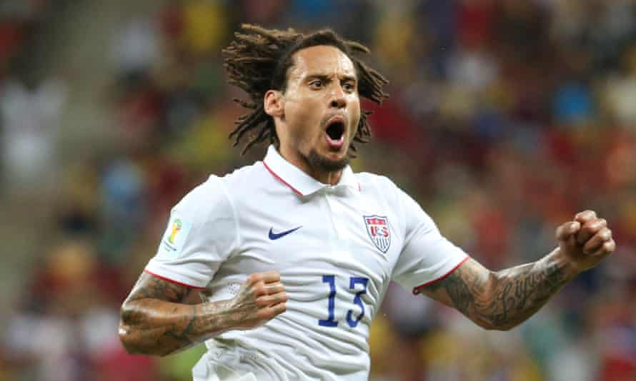Jermaine Jones was born in Frankfurt to a German mother and an American father.