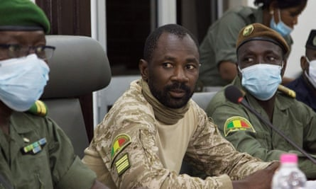 Mali's president of the National Committee for the Salvation of the People, Assimi Goita