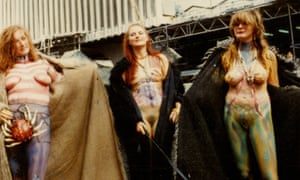 The Neo Naturists' piece Swimming and Walking Experiment, London, 1984.