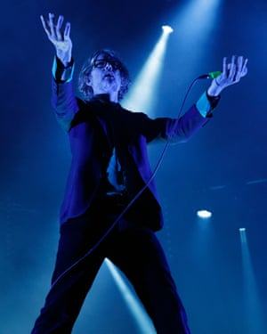 'Ever the picture of shaggy charisma' ... Jarvis Cocker.
