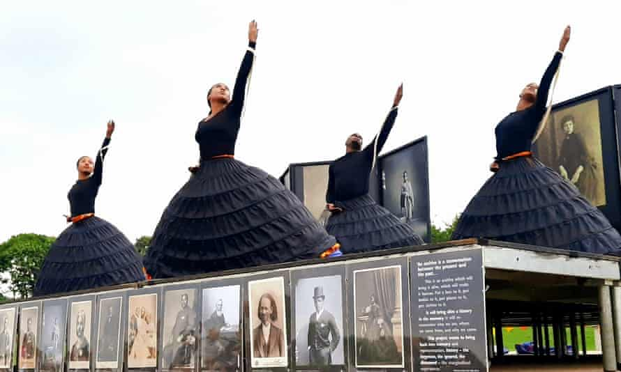 Uncanny images … Black Victorians, at Milton Keynes international festival.