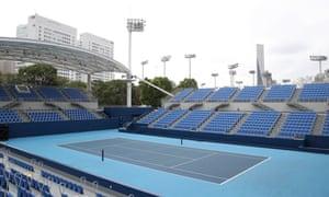 Court One at Ariake Tennis Park