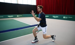 Andy Murray has not played competitive tennis since Great Britain's Davis Cup campaign in November.