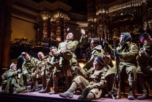 Opera North's premiere performance of Silent Night by Kevin Puts at Leeds Town Hall.