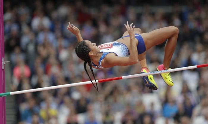 Katarina Johnson Thompson S High Jump Flop Hits Heptathlon Medal Hopes Sport The Guardian