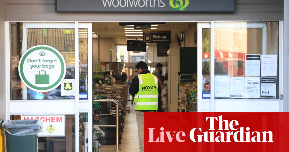 Coronavirus Australia live update: Woolworths asks customers to wear face masks in NSW, ACT and Queensland as Victoria records 13 deaths and 723 new Covid-19 cases