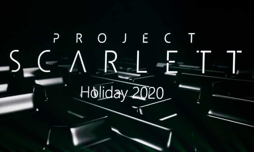 Project Scarlett, the code name for the next Microsoft gaming console, will be released during the 2020 holiday season
