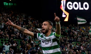 Bruno Fernandes has scored 14 goals in 28 games for Sporting Lisbon and Portugal this season