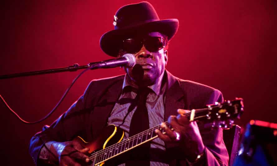 'He was rocking right to the end' ... John Lee Hooker. Photograph: David Redfern/Redferns
