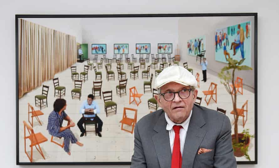 """""""LA has always inspired me,"""" David Hockney said. """"The light here is marvellous – much better than England."""""""