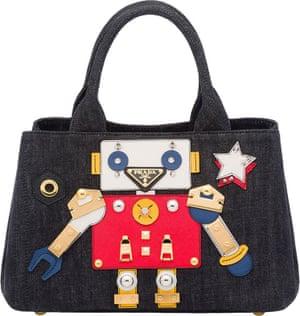 Prada's robot handbag