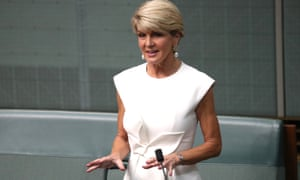 Julie Bishop announces her retirement from politics on Thursday. She reminds the House of Representatives she was the first woman to contest the leadership ballot in the Liberal party's 75-year history.
