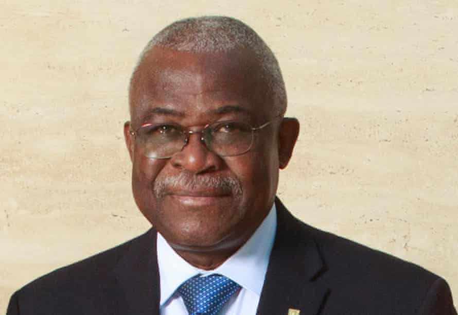 IFAD president Kanayo Nwanze.