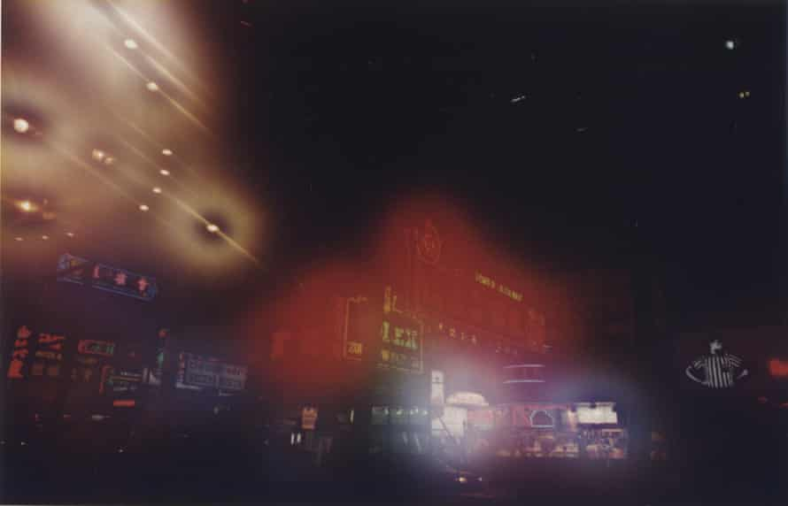 Location photographs of Hong Kong for Ghost in the Shell (1995) Colour prints from small format negatives