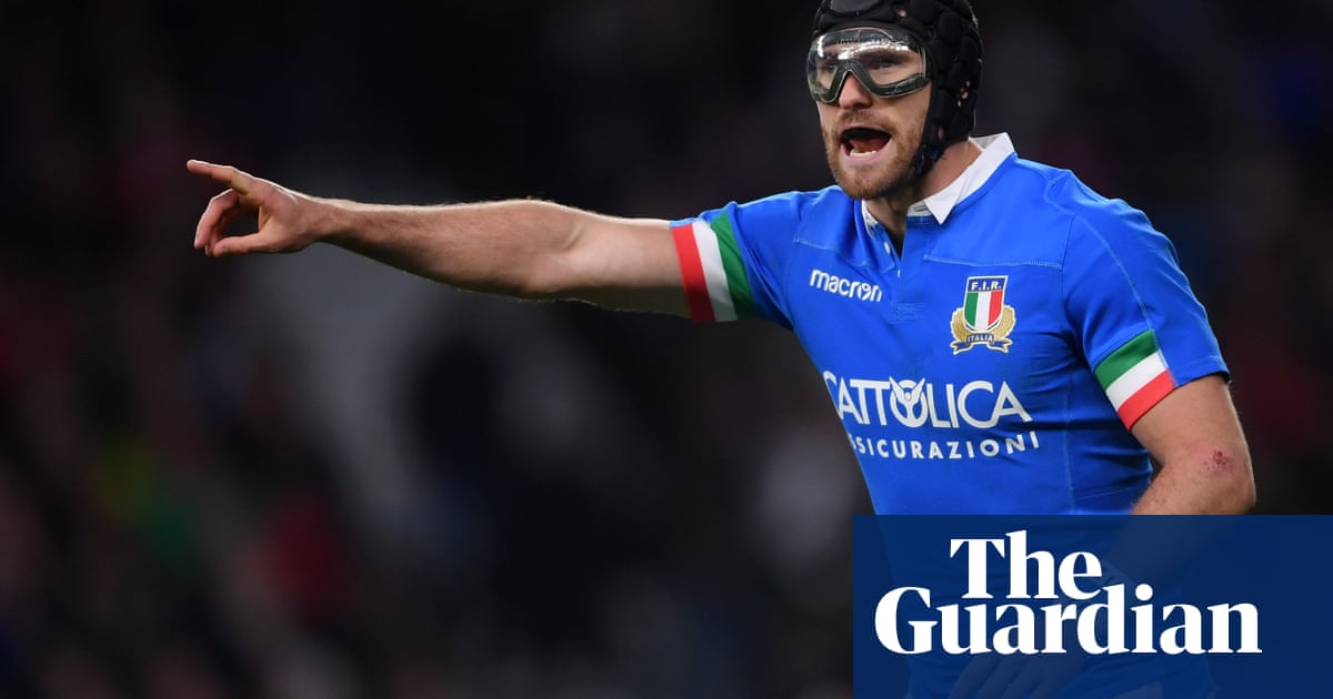 Irish-born Italy international and rugby goggles advocate Ian McKinley retires