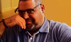 The writer Chris Abani.