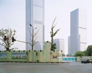 Jiangbeizui Central Business District, Chongqing, China, 2017