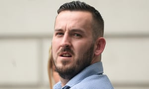 James Goddard admitted causing alarm and distress using threatening or abusive language.