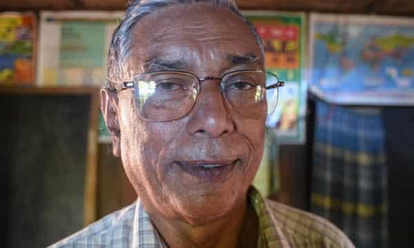 U Kyaw Hla Aung, a Rohingya leader from Sittwe, capital of Myanmar's troubled Rakhine state.