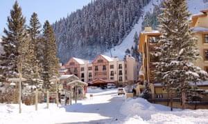 The Taos Ski Valley resort.