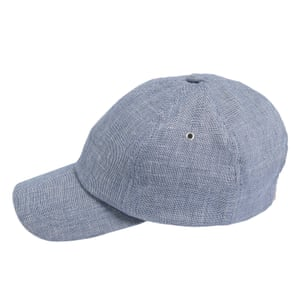 blue cloth peaked cap Marks and Spencer