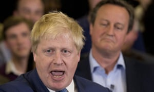 Boris Johnson has clashed with David Cameron over immigration and the PM's claims that Brexit would be a risk to peace in Europe.