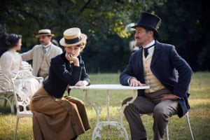 Keira Knightley and Dominic West in Colette.