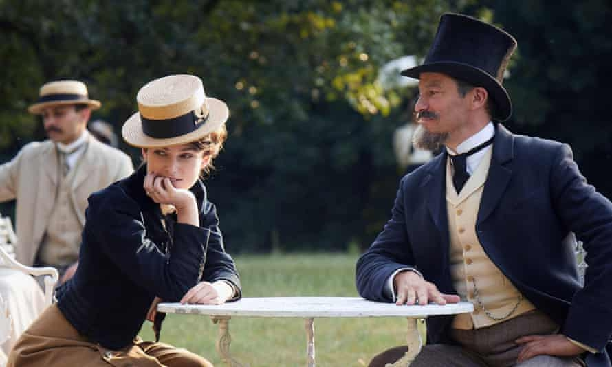 Tremendous chemistry … Keira Knightley and Dominic West in Colette.