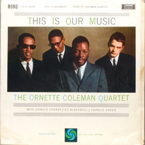 The sleeve of This Is Our Music by The Ornette Coleman Quartet.