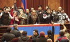Nagorno-Karabakh peace deal brokered by Moscow prompts anger in Armenia