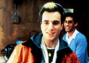 Daniel Day-Lewis and Gordon Warnecke in the 1985 hit, My Beautiful Laundrette, directed by Stephen Frears.