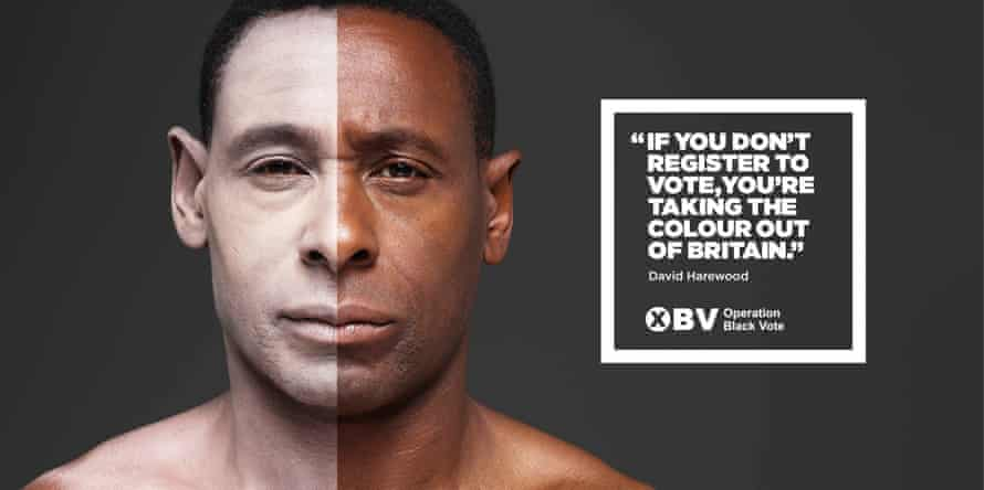 David Harewood's 2015 OBV poster.