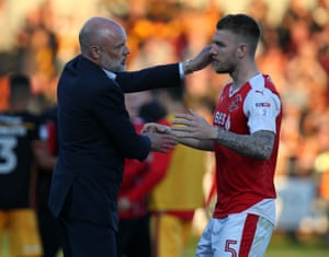 Will Uwe Rosler pick Fleetwod Town up again after losing in the play-offs last season?