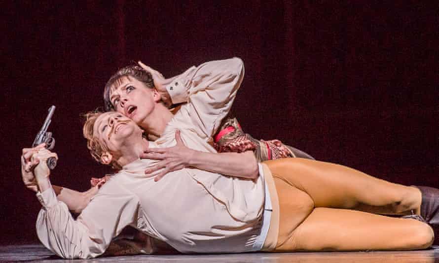 Edward Watson and Natalia Osipova in Mayerling by Kenneth MacMillan.