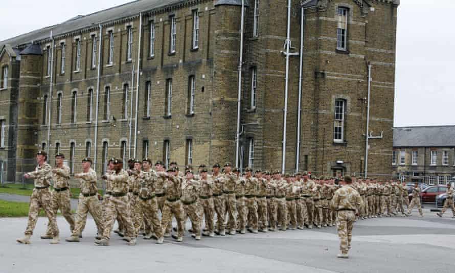 MoD cavalry barracks in Hounslow
