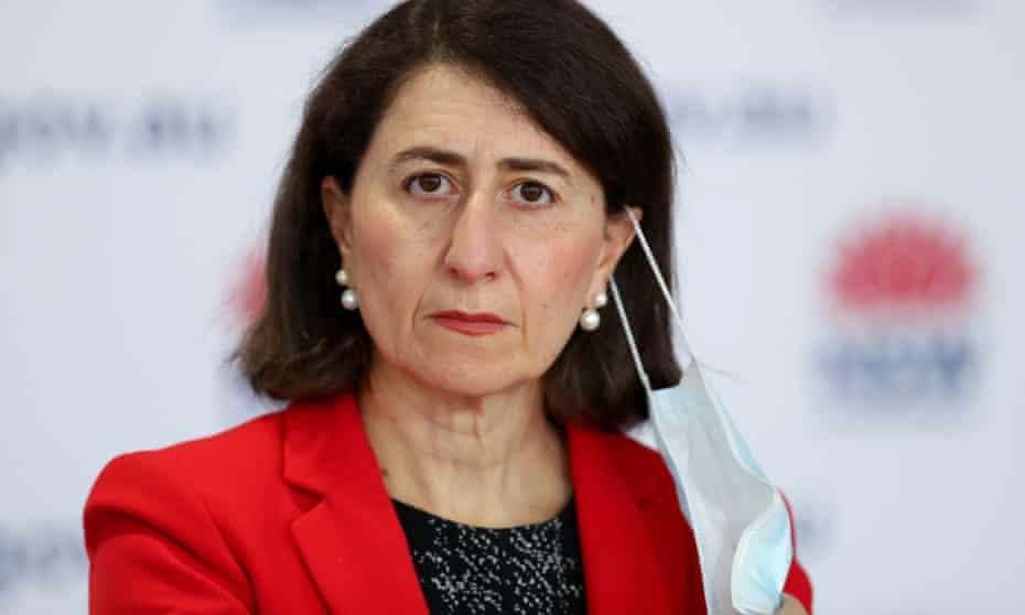 The NSW premier Gladys Berejiklian
