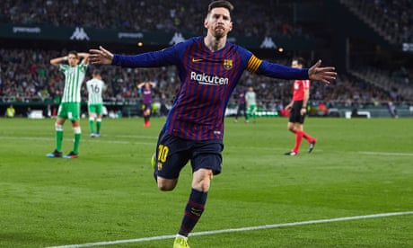 Oh. My. God. Messi, a hat-trick and a stadium left in suspended animation