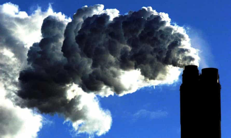 Greenhouse gas emissions dropped to about 34bn tonnes of carbon dioxide in 2020.