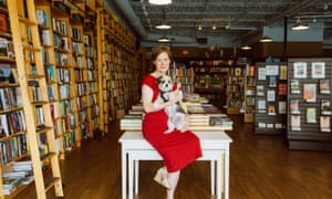 Ann Patchett in her shop, Parnassus Books, in Nashville.