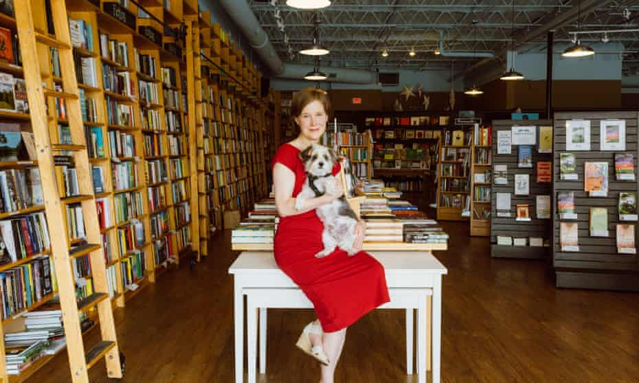 Ann Patchett in her shop, Parnassus Books, in Nashville.