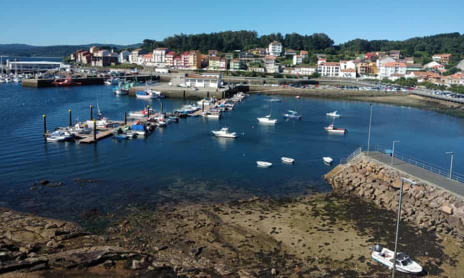 Camariñas harbour, Galicia, Spain