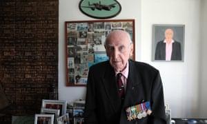 Second world war veteran Alfred Huberman