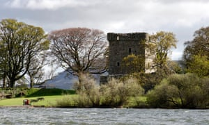 Lochleven Castle, where Mary was imprisoned in 1567-8.