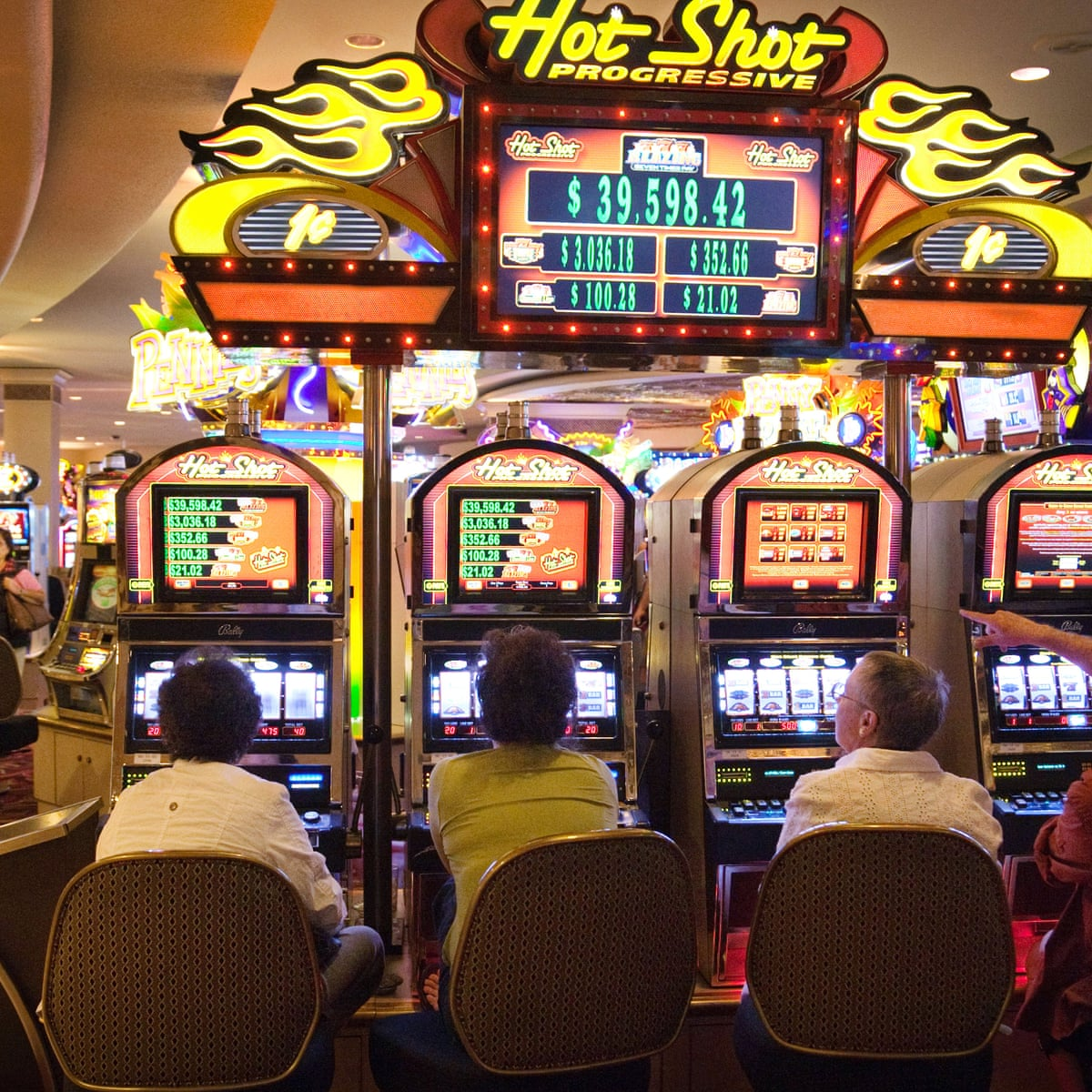 Slot Machines More Dangwrous Than Other Games