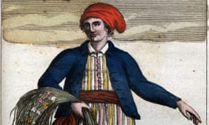 Colour portrait of Jeanne Baret