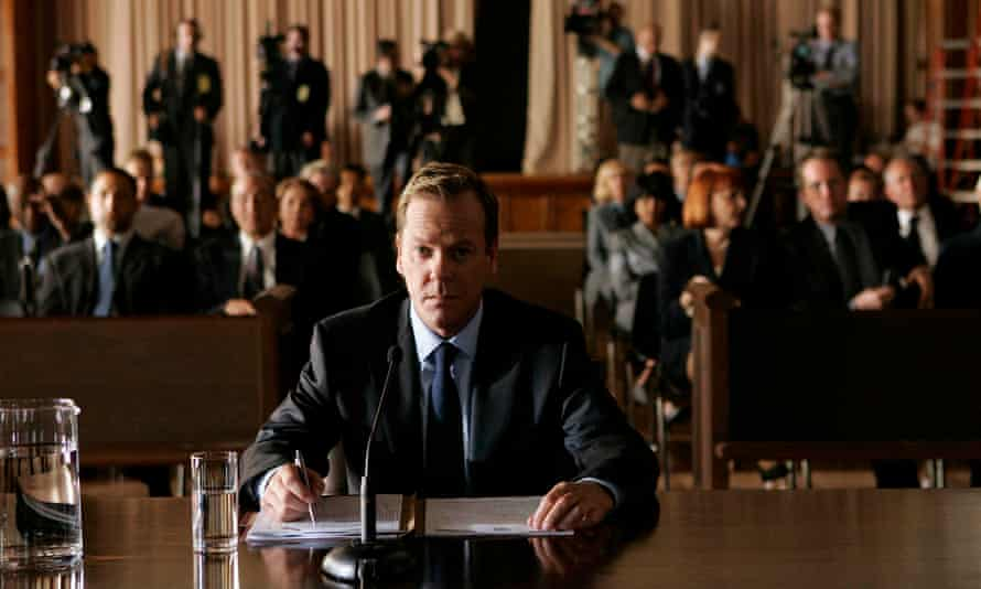 Jack Bauer (Kiefer Sutherland) in the TV series 24