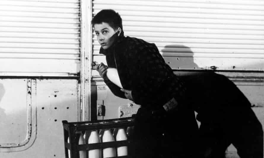 Jean-Pierre Léaud in The 400 Blows