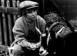 'Mud-spattered Tom and Barbara might not have enjoyed material comforts but they were clearly happier.' Felicity Kendal in The Good Life.