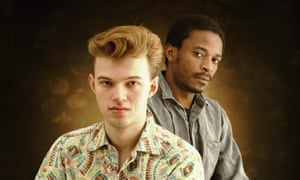 Edwyn Collins and Zeke Manyika from Orange Juice, whose song Rip It Up gives the exhibition its title.