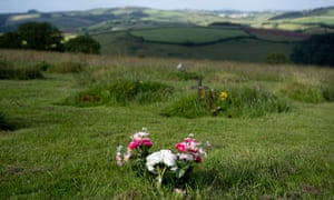 The Sharpham Trust's natural burial ground at Sharpham Meadow